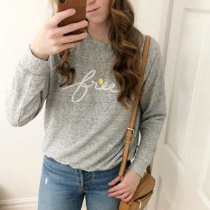 Aritzia Wilfred Free Light Crew Sweatshirt Sweater